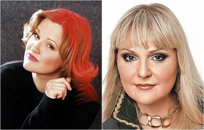 Популярные советские певицы в начале карьеры и сейчас