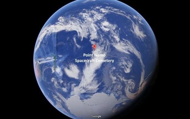 Место, где находится свалка космических кораблей
