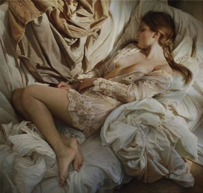 7 современных художников, воспевающих женскую красоту