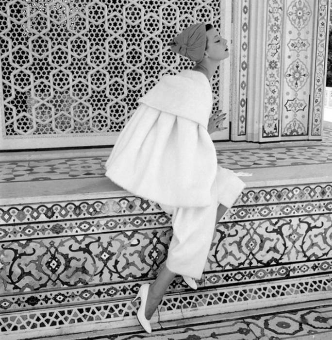 Яркий фотограф Норман Паркинсон: Одри Хепберн и другие знаменитости