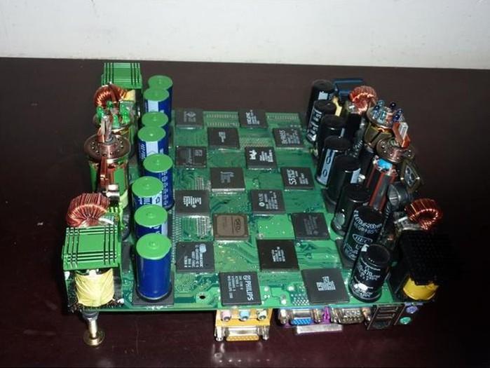 Шахматы бывают самые необычные!