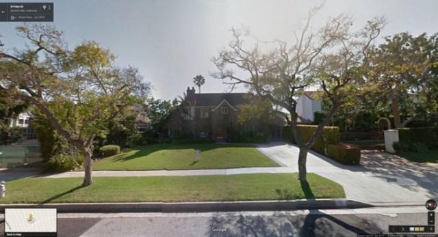 Места, где снимались известные фильмы, на картах Google Street View
