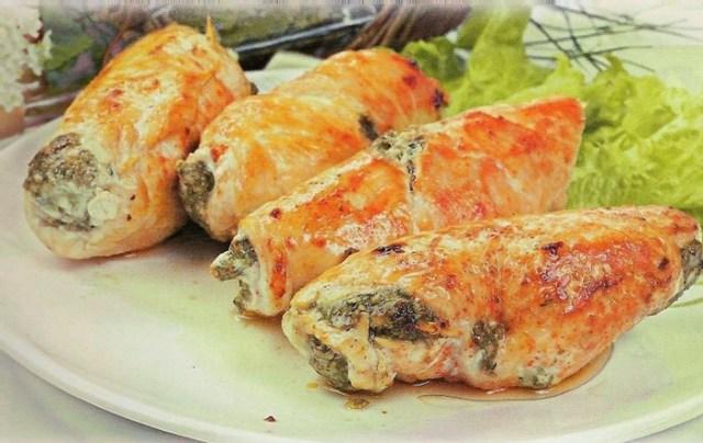 Рулетики «Курочка ряба»: простой и вкусный рецепт приготовления куриного рулета