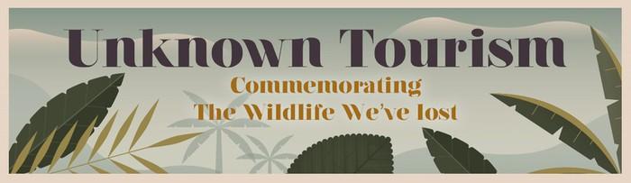 «Неизвестный туризм»: винтажные плакаты с животными, которых больше нет