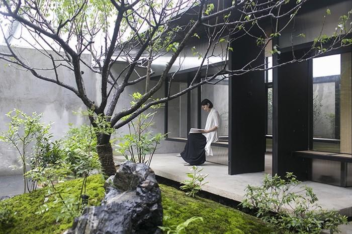Чайный домик с садом в Шанхае от Atelier Deshaus
