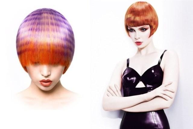Новый цветной тренд   пиксельное окрашивание волос