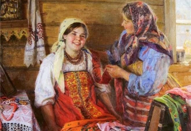Каким женщинам на Руси запрещено было готовить