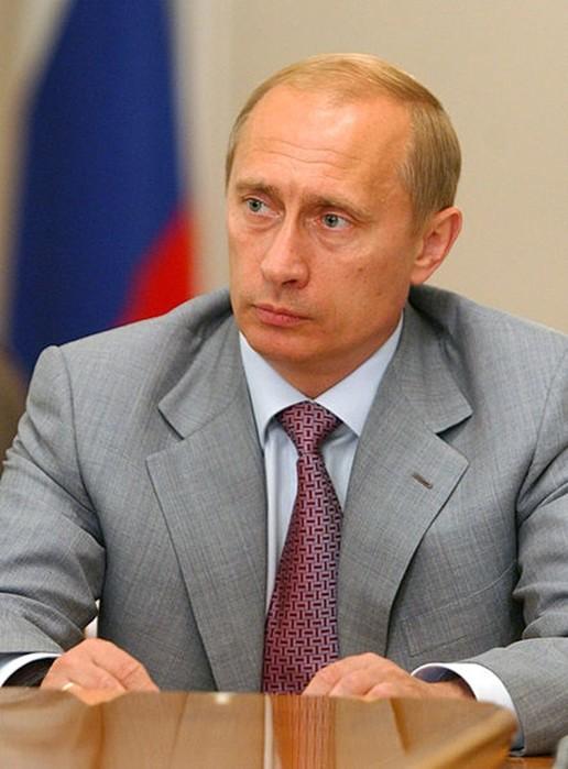 Фотография умершего Путина