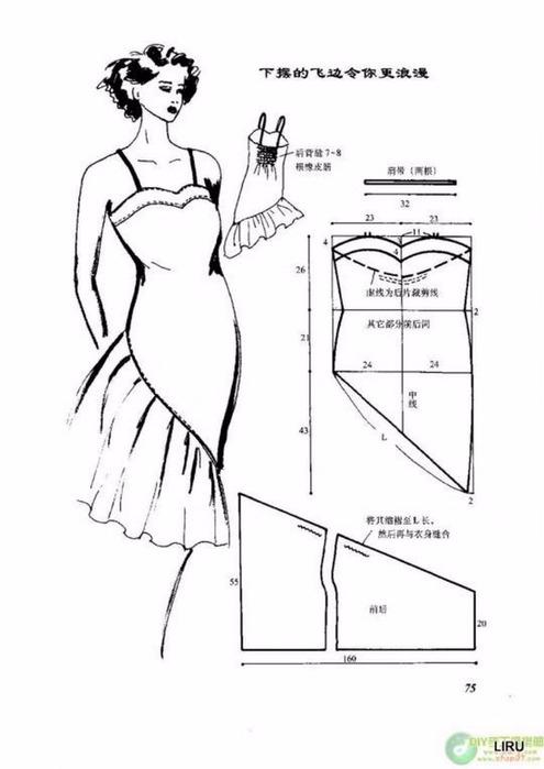 Как сшить сарафан для женщины своими руками для начинающих выкройки фото 551
