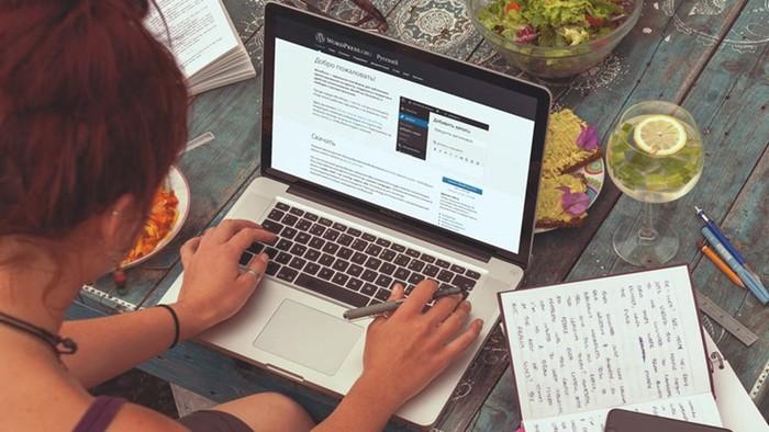 Как создать блог на движке WordPress?