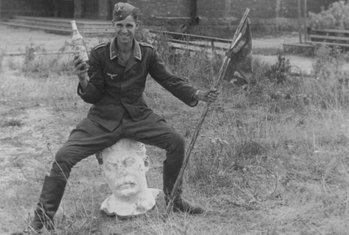 Какие трофеи фашисты вывозили из Советского Союза?