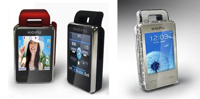Самый маленький телефон в мире