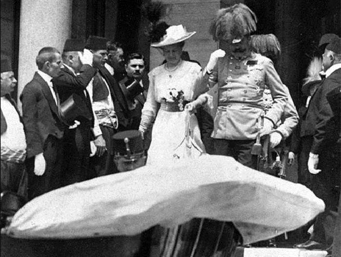 Кто заказал убийство эрцгерцога Франца Фердинанда в 1914 году?