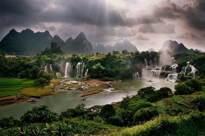 Потрясающая красота живописныхпейзажей Китая