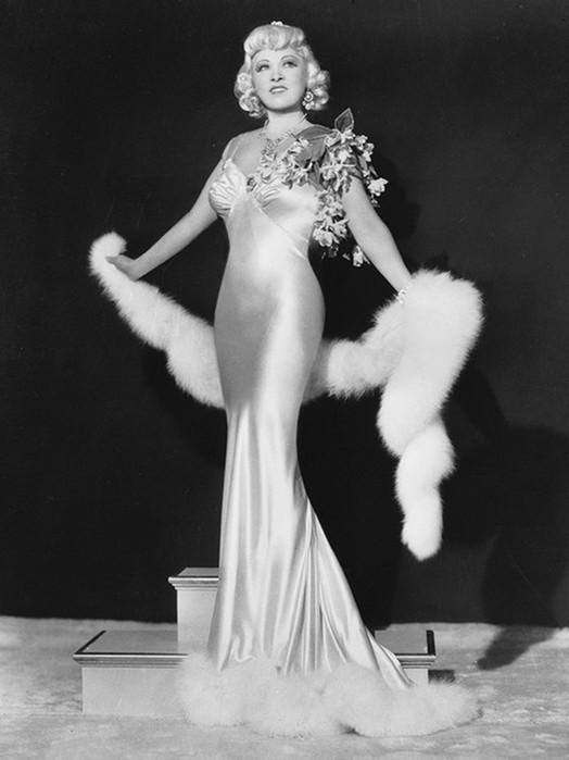 Актриса Мэй Уэст, первый секс символ Америки