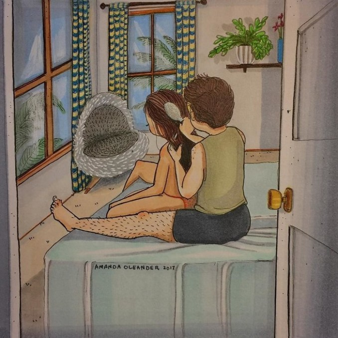 Как выглядит любовь, когда никто не видит— самые честные иллюстрации