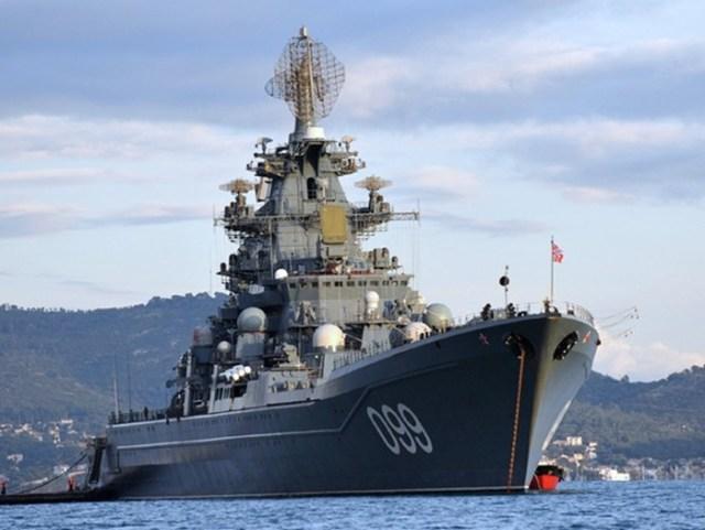 Самые большие надводные суда атомного флота