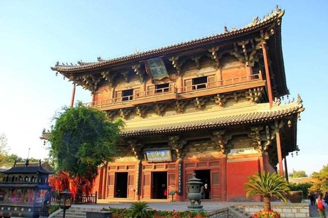 Храм Одинокого счастья— древнейший храм Китая