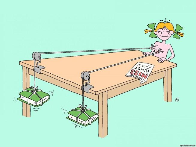 Карикатура как жанр изобразительного искусства