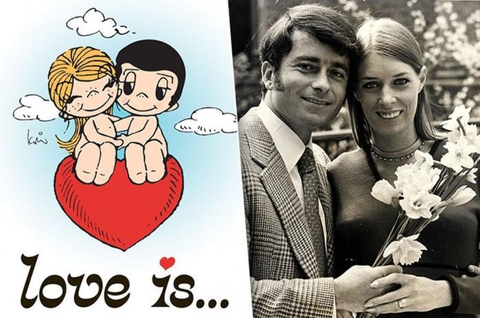 Love is: пронзительная история любви авторов знаменитых вкладышей