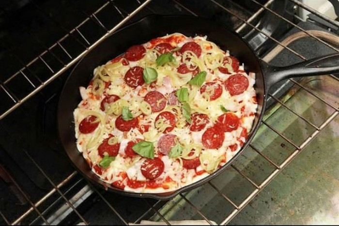 Как приготовить пиццу без замеса теста?