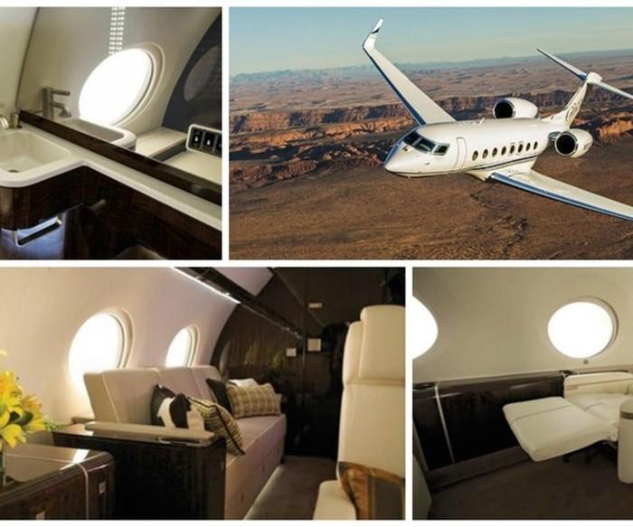 5 самых дорогих частных самолетов: неземное богатство