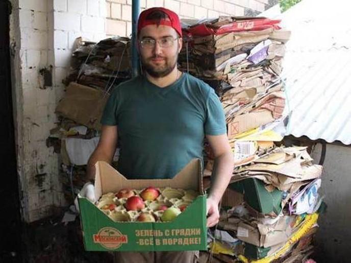 В Москве появилась карта помоек, из которых можно поесть