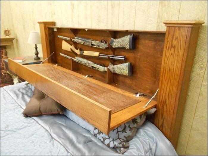 Лучшие тайники для хранения оружия в мебели