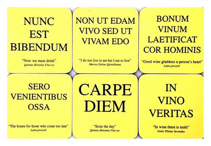 17 латинских слов, которые закрепились в английском языке