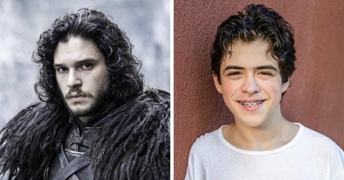 Еслибы персонажей фильмов играли актеры ихреального возраста