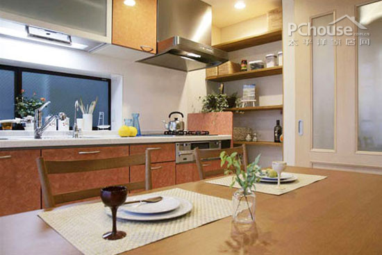 kitchen table nook valance curtains for 常见的开放式厨房和餐区的混搭