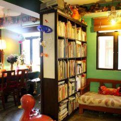 Black Kitchen Rugs Orange Decor 复古的木质沙发