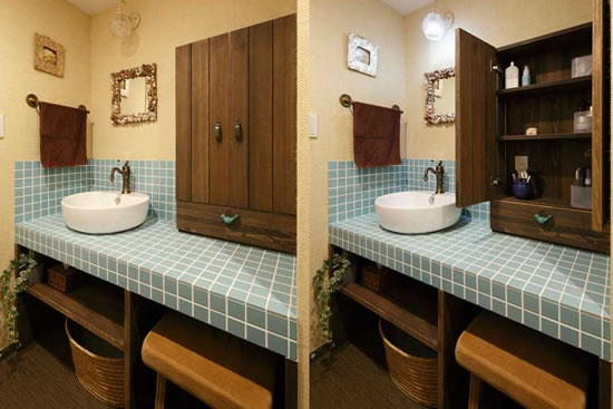 rustic kitchen faucets stand alone sink 88平活力色彩收纳窝