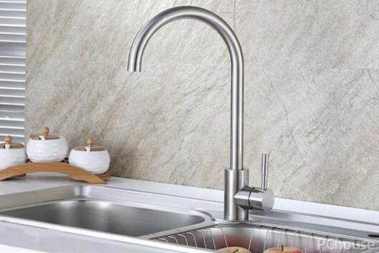 stainless steel kitchen faucets red cabinets ideas 不锈钢厨房龙头优缺点不锈钢厨房龙头价格 厨房建材专区 太平洋家居网