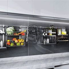 Kitchen Pendant Roll Out Cabinet 厨房挂件置物架如何挑选厨房挂件置物架材质要求 卫浴产品专区 太平洋家居网