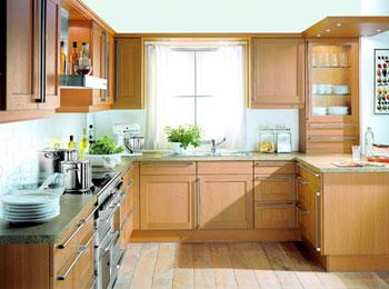 kitchen back splash bridge faucet 教你如何装修设计厨房 家居百科 太平洋家居网 厨房的环境指标