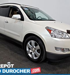 auto durocher used chevrolet traverse 2012 for sale in laval stock n 2741106 [ 1600 x 1200 Pixel ]