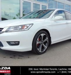 used 2015 honda accord ex l auto deal pending for sale in montreal 96578 spinelli honda lachine [ 1600 x 1200 Pixel ]