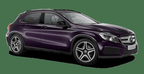 Little Violet Mercedes Benz MSB