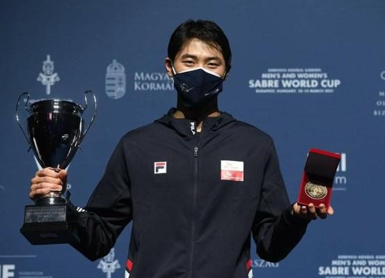 세계 1 위 펜싱 세이버 오상욱, 1 년 만에 월드컵 우승