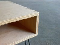Mid Century Modern Inspired Baltic Birch Plywood Side ...