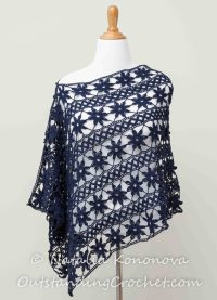 Crochet Shawl PATTERN - Dozen Ways to Wear Wrap - Cover Up ...