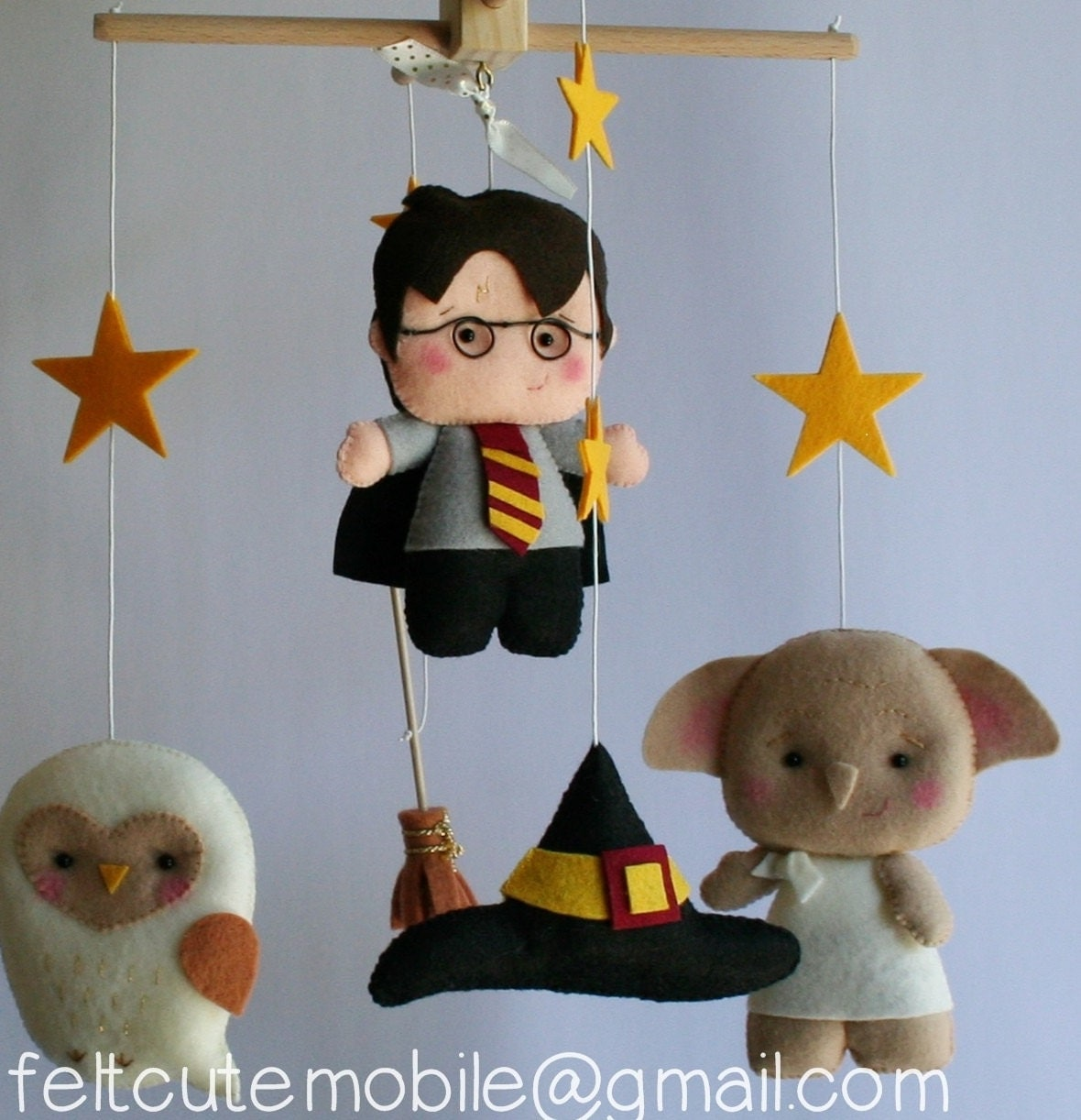Baby Shower Harry Potter Mobile Baby Crib Mobile BB Felt