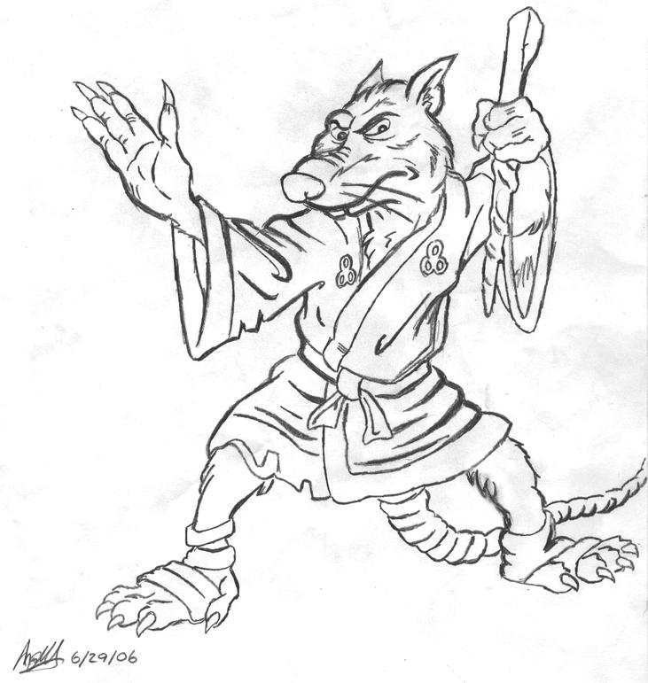 Master Splinter by Sugarhog314 on DeviantArt