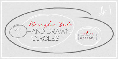 11 hand drawn circle