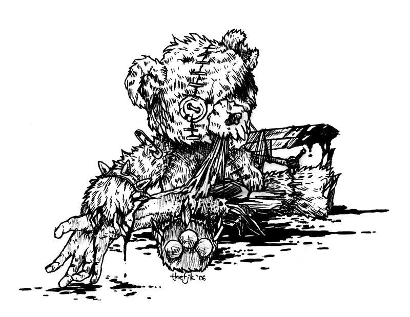 Evil Teddy 2: Revenge Is Sweet by thefjk on DeviantArt