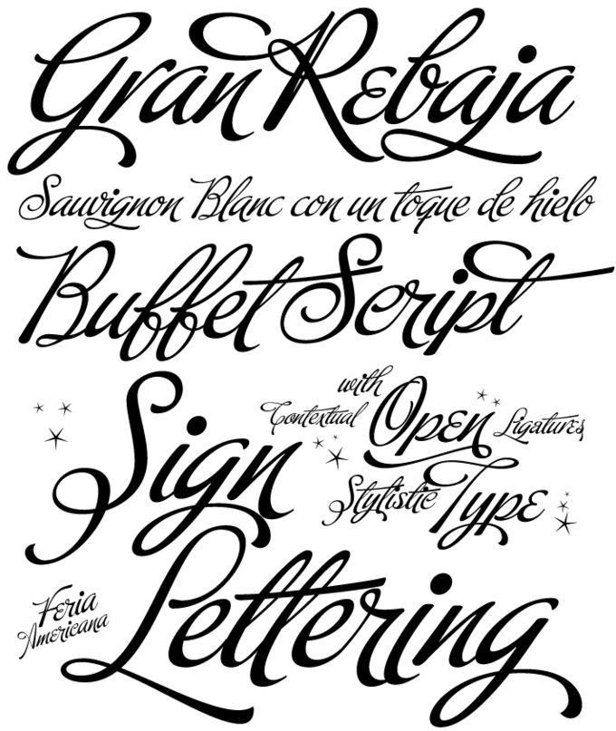 Buffet Script Fonts by Agency-fonts on DeviantArt
