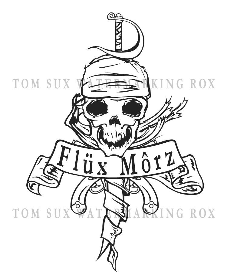 Pirate Tattoo design by synner on DeviantArt