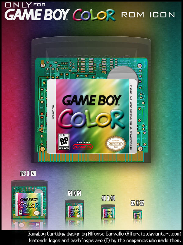 Purple And Black Wallpaper Designs Gameboy Color Only Rom Icons By Alforata On Deviantart