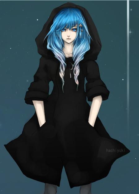 Girl With White Hair And Blue Eyes Wallpaper Michiko Asahi Shippuden Oc By Sasukes Sister On Deviantart